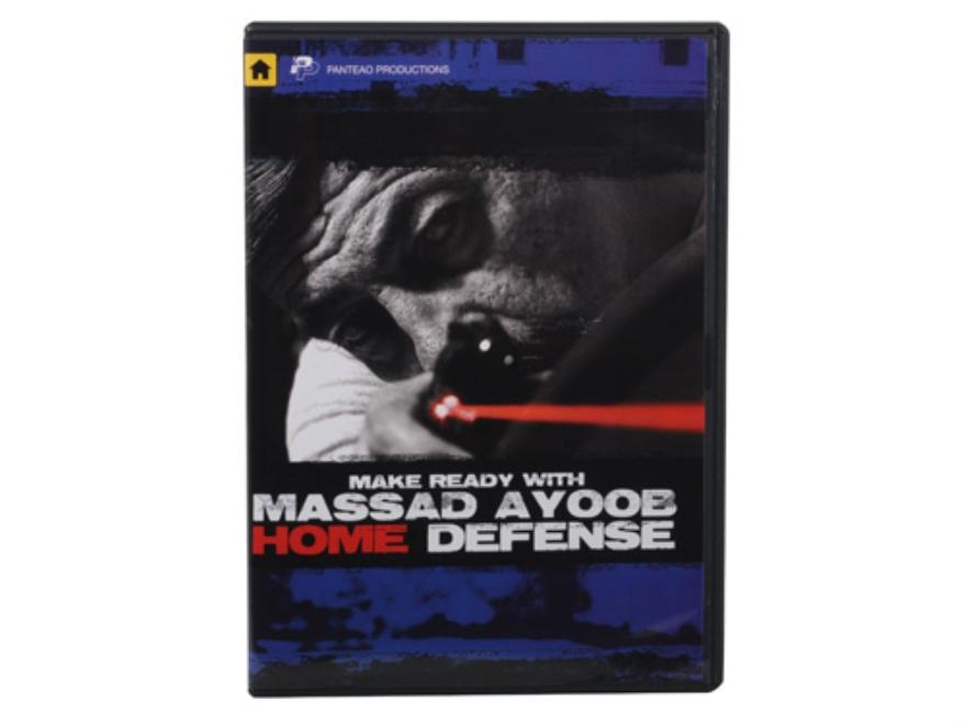 "Panteao ""Make Ready with Massad Ayoob: Home Defense"" DVD"
