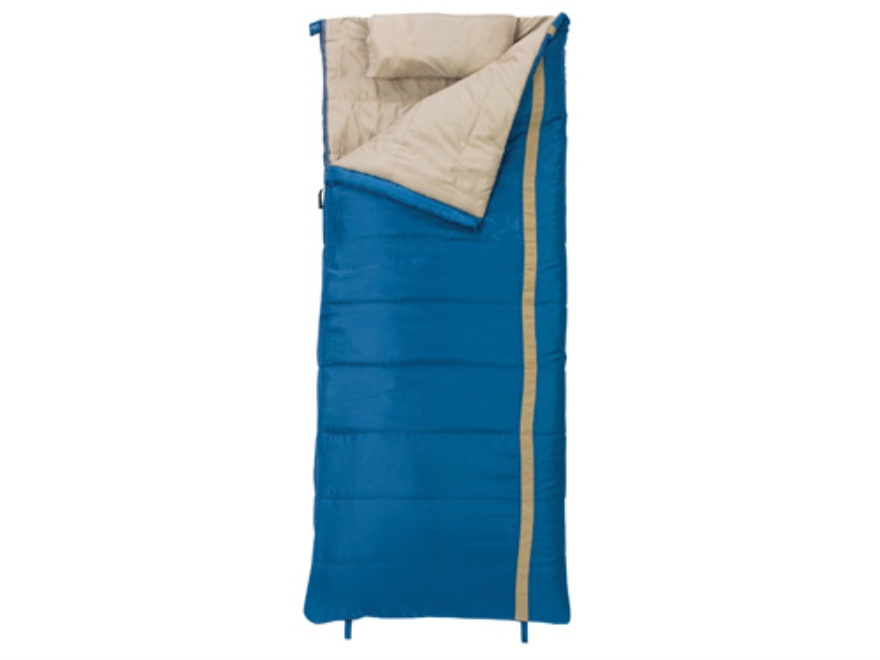 "Slumberjack Timberjack 20 Degree Sleeping Bag 34"" x 80"" Polyester Blue"