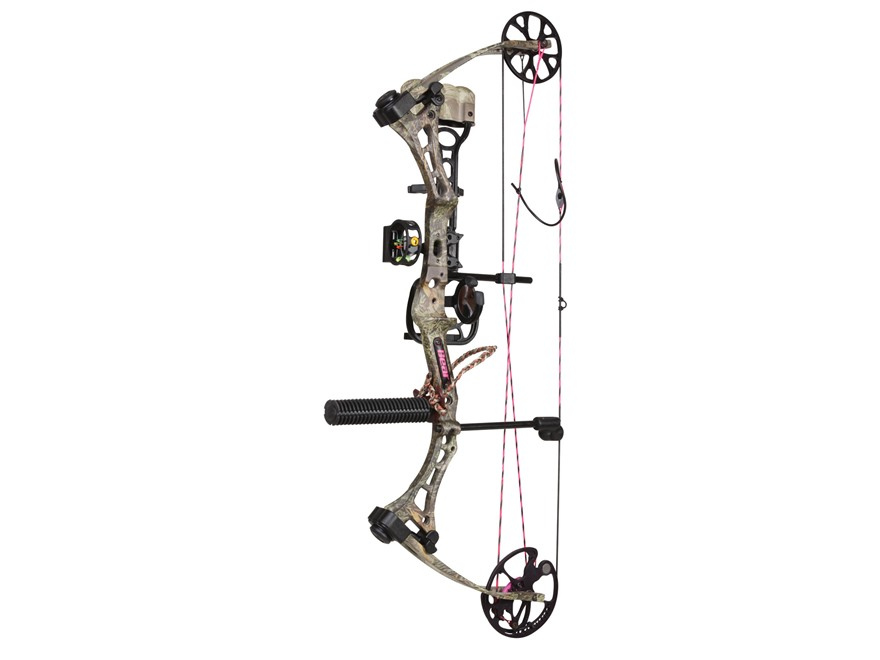 "Bear Archery Finesse Women's Compound Bow Package Right Hand 40-50 lb 23""-28"" Draw Leng..."