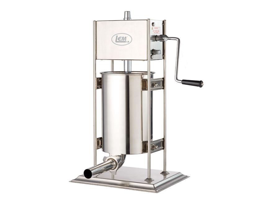 LEM Vertical 25 lb Sausage Stuffer Stainless Steel