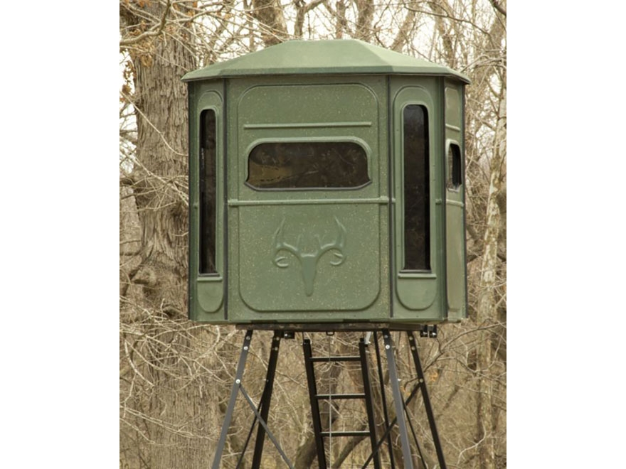 Redneck Blinds Predator 360 Elevated Box Blind