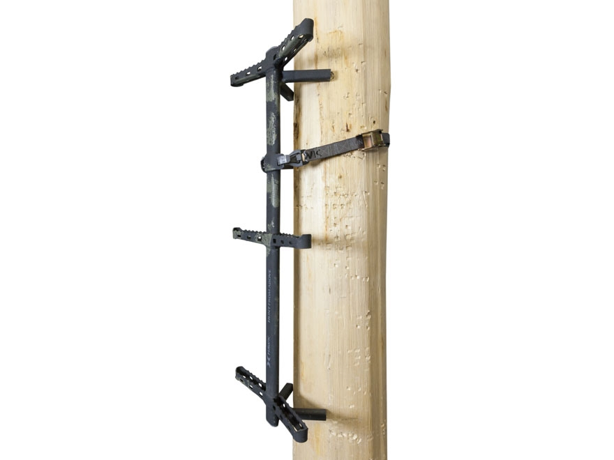 "Hawk Ranger Traction Treestand Climbing Stick 32"" Steel Mud Finish Camo Pack of 3"