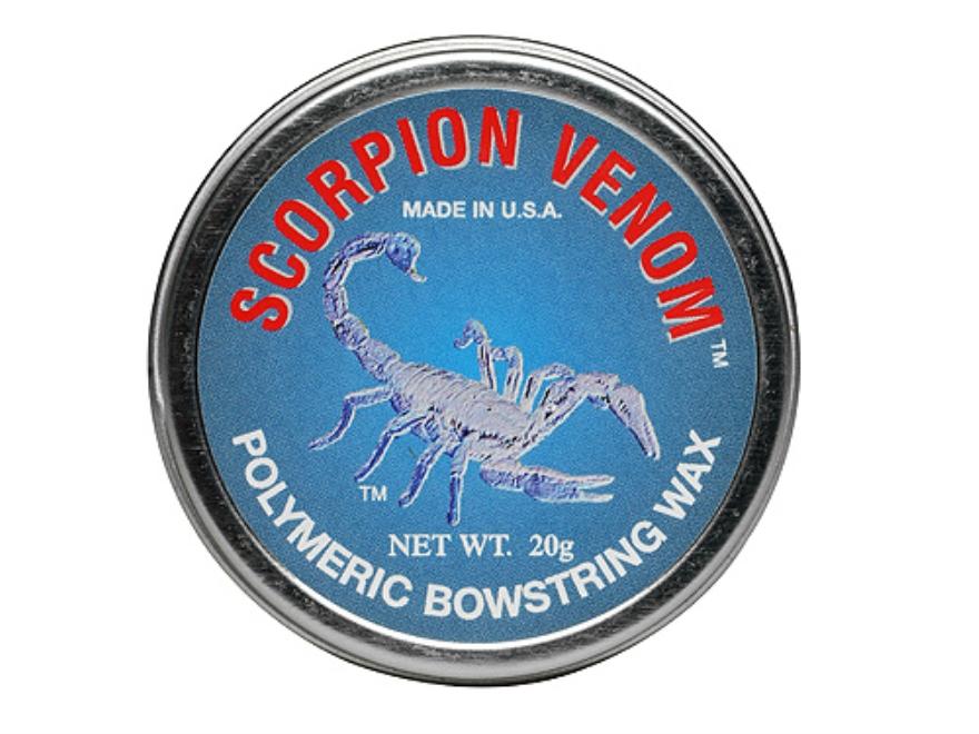 Scorpion Venom Polymeric Bowstring Wax Bow String Conditioner 20 Gram