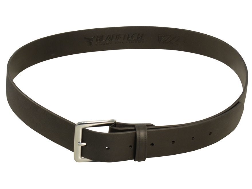 "Blade-Tech EDC Belt 1.5"" Leather Grain Polymer Black"