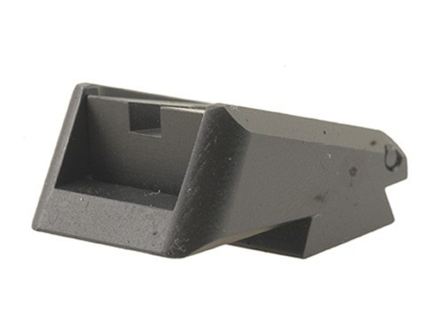 Novak Adjustable Extreme Duty LoMount Carry Rear Sight 1911 Standard Rear Cut Steel Black