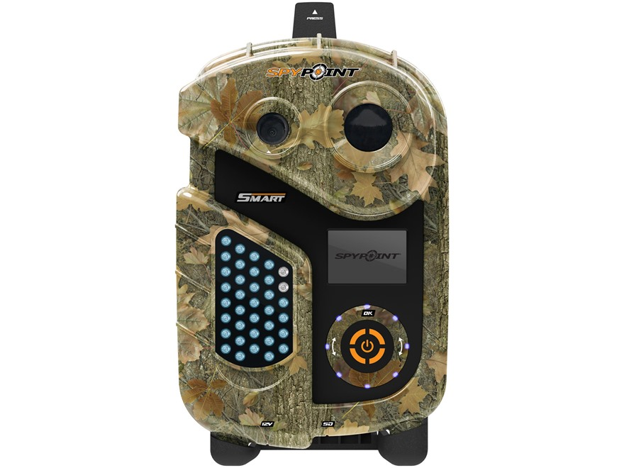 Spypoint Smart Black Flash Infrared Game Camera 10 MP Spypoint Dark Forest Camo