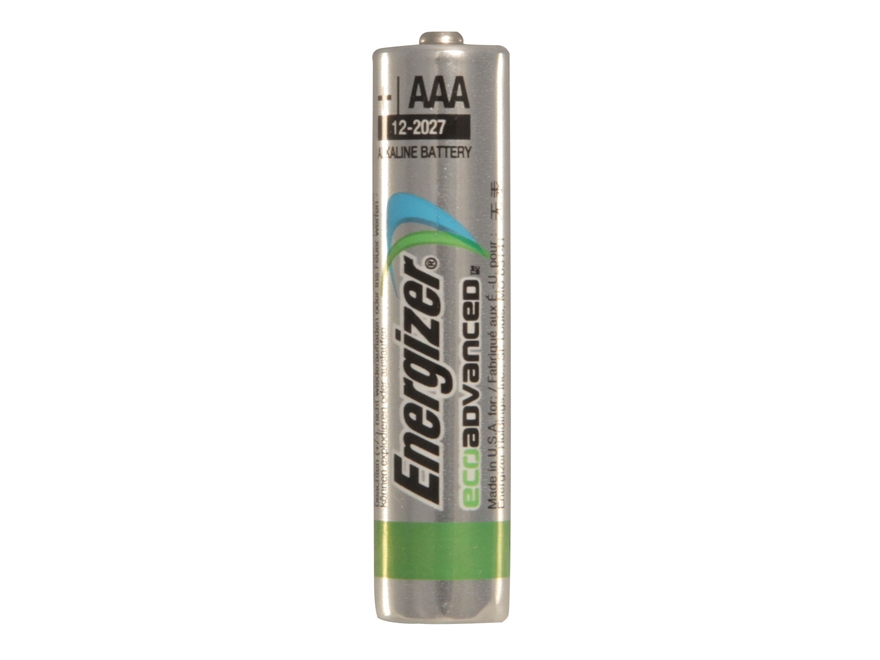 Energizer Battery AAA Eco Advanced 1.5 Volt Alkaline Pack of 4