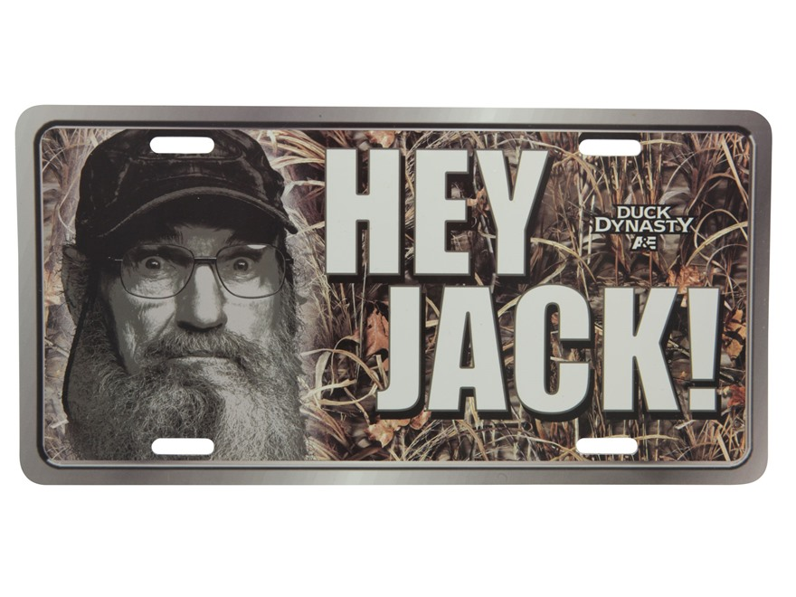Duck Dynasty License Plate