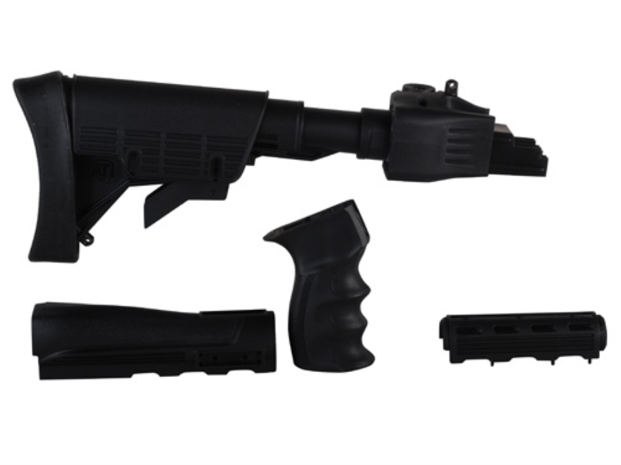 Advanced Technology Strikeforce 6-Position Collapsible Stock and Handguard Set with Sco...