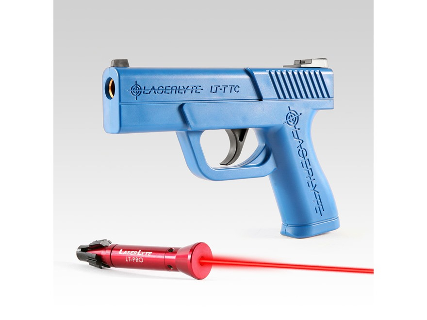 LaserLyte Trigger Tyme Pro Kit with Compact Pistol Housing and LT-Pro Laser Trainer