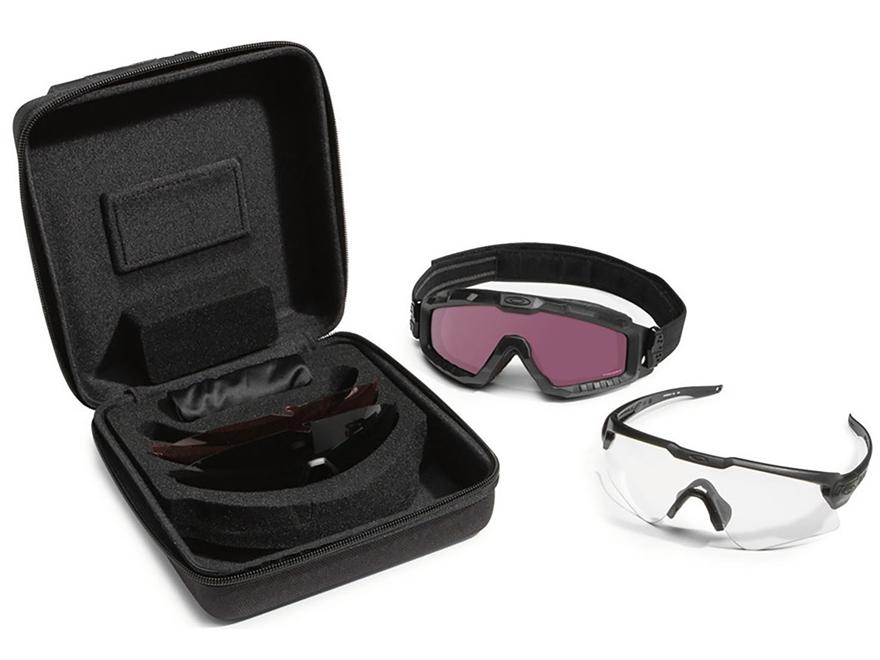 Oakley SI Ballistic M-Frame Alpha Operator Kit Matte Black Frame/Clear, Gray, Prizm TR2...