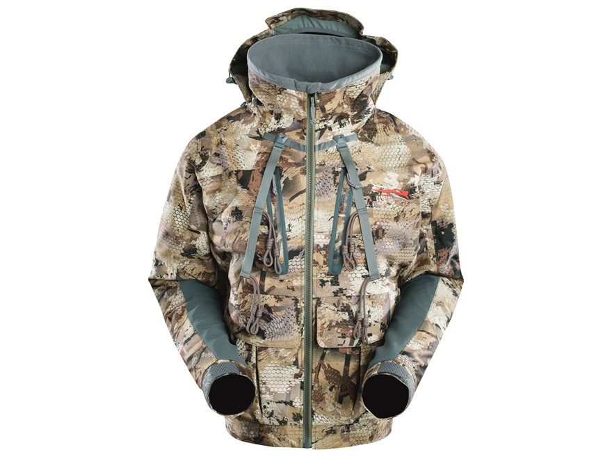Sitka Gear Men's Layout Insulated Jacket Polyester Gore Optifade Waterfowl Marsh