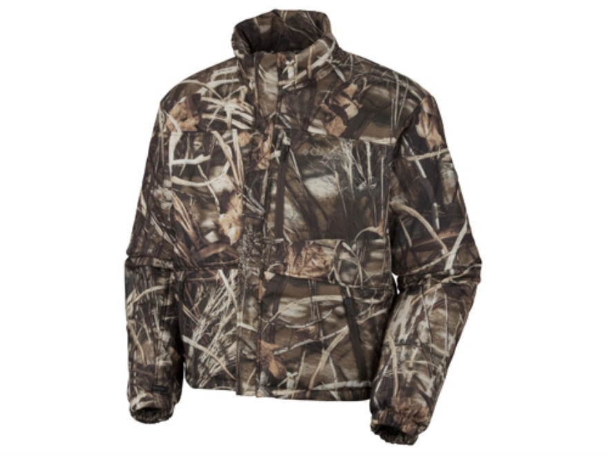 Columbia Sportswear Men's Omni Heat Liner Jacket Insulated Polyester Realtree Max-4 Cam...