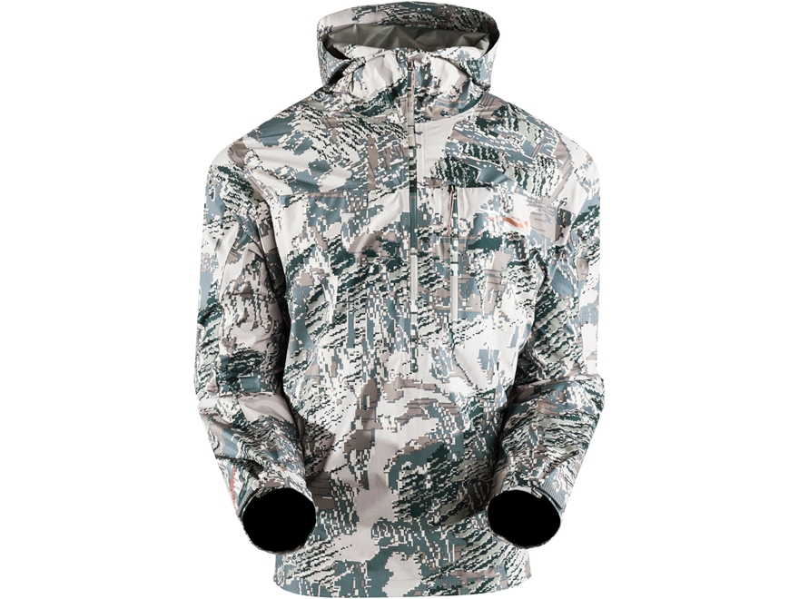 Sitka Gear Men's Flash Windproof 1/2 Zip Pullover Jacket Polyester