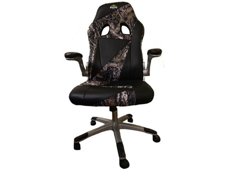 Banks Blinds Box Blind Captain's Chair Steel Black and Camo