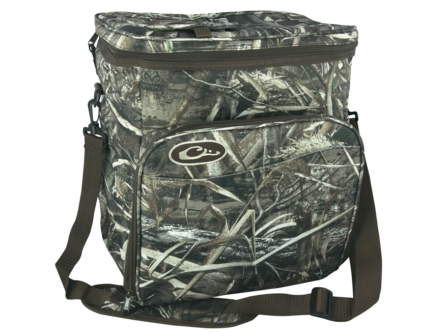 Camo Soft Cooler ~ Drake pack soft sided cooler polyester realtree mpn