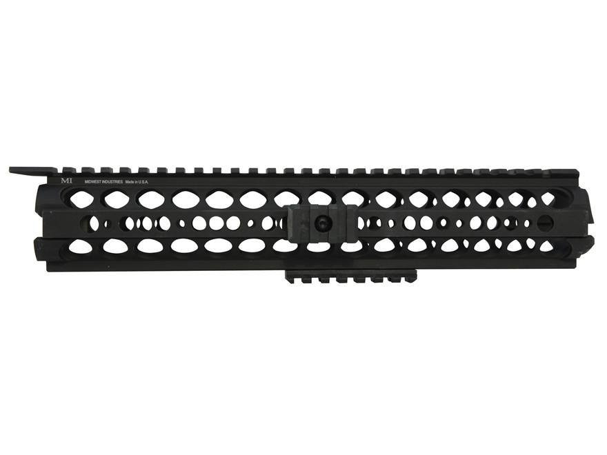 Midwest Industries SS-Series 2-Piece Drop-In Modular Rail Handguard AR-15 Rifle Length ...