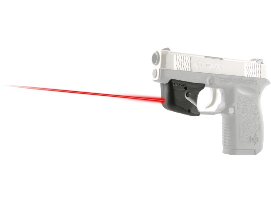 LaserLyte TGL Red Laser Sight DiamondBack 380 and 9mm Matte