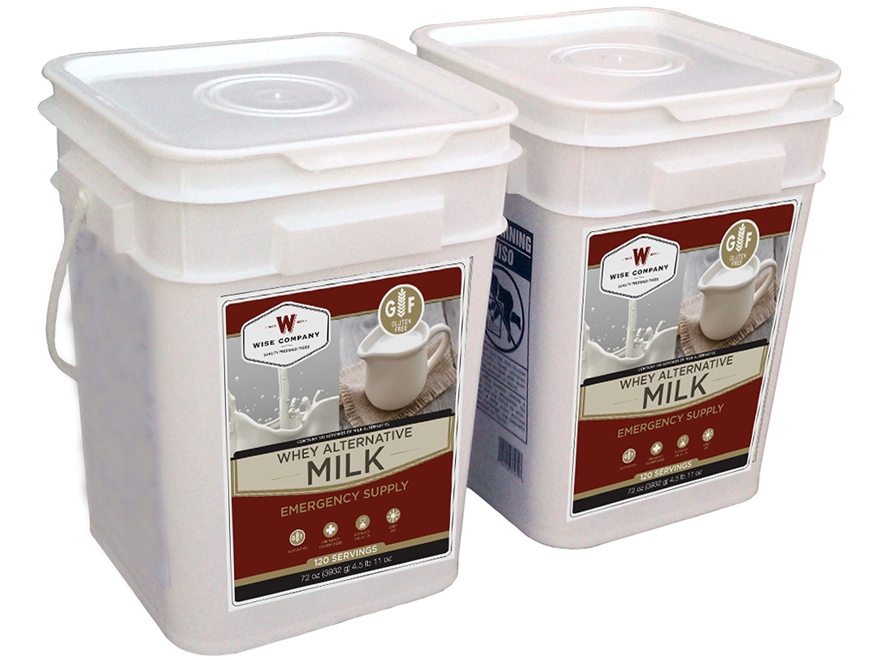 Wise Food Powdered Whey Milk Kit