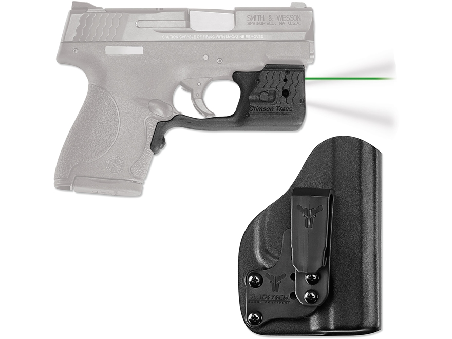 Crimson Trace Laserguard Pro Weapon Light White LED with Laser Sight S&W M&P Shield 9mm...