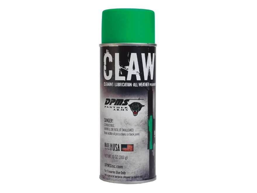DPMS CLAW Cleaner and Lubricant 10 oz Aerosol