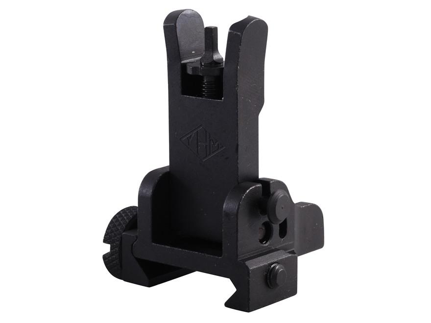 Yankee Hill Machine Flip-Up Front Sight Gas Block Height AR-15, LR-308 Steel Matte