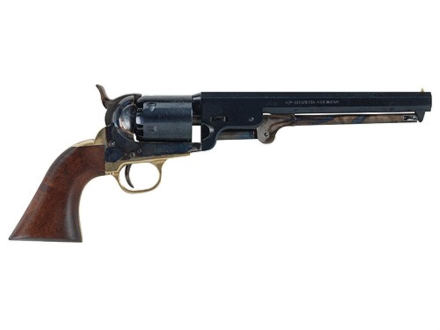 Pietta 1851 Navy Black Powder Revolver 36 Caliber Steel Frame Blue