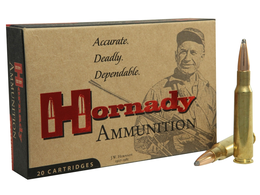 Hornady Custom Ammunition 275 Rigby 140 Grain Spire Point Box of 20