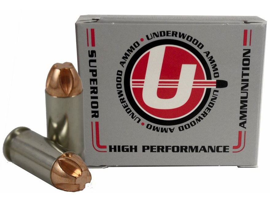 Underwood Ammunition 40 S&W 140 Grain Lehigh Xtreme Penetrator Lead-Free Box of 20