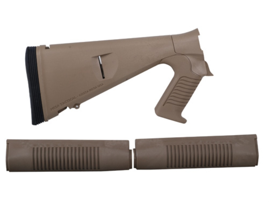 Mesa Tactical Urbino Tactical Stock with Limbsaver Recoil Pad and Forend Benelli M4 12 ...