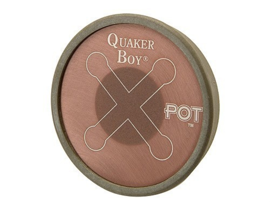 Quaker Boy Xpot Aluminum Turkey Call