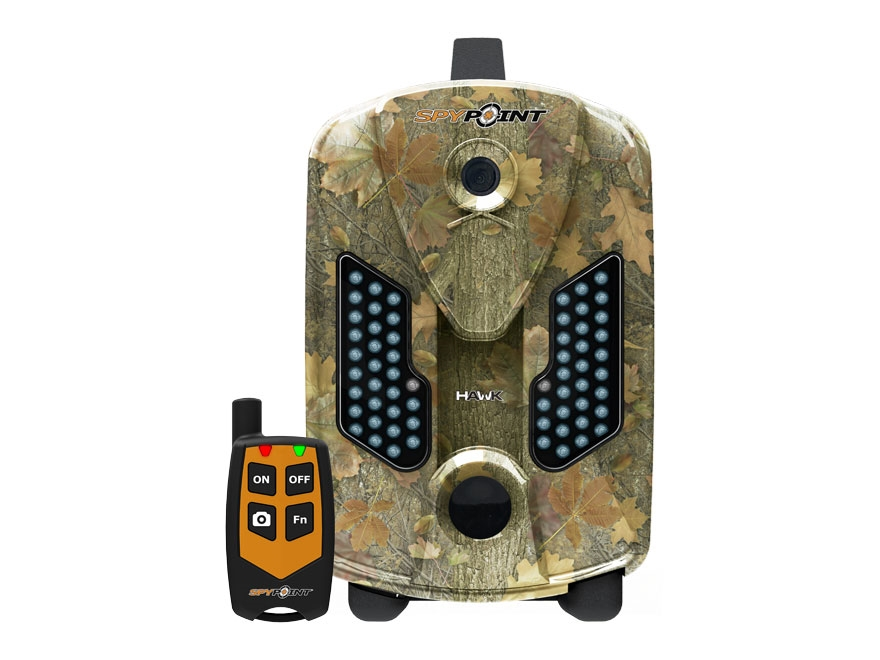 Spypoint Hawk Black Flash Infrared Game Camera with Remote 1080P HD with Viewing Screen...