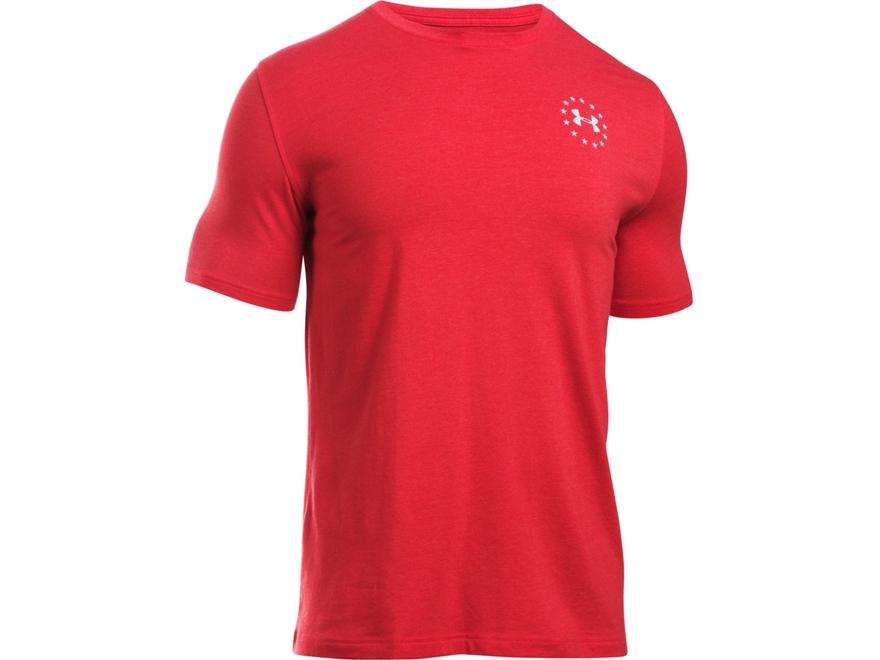Under Armour Men's UA WWP Freedom Flag T-Shirt Short Sleeve Cotton/Poly Blend