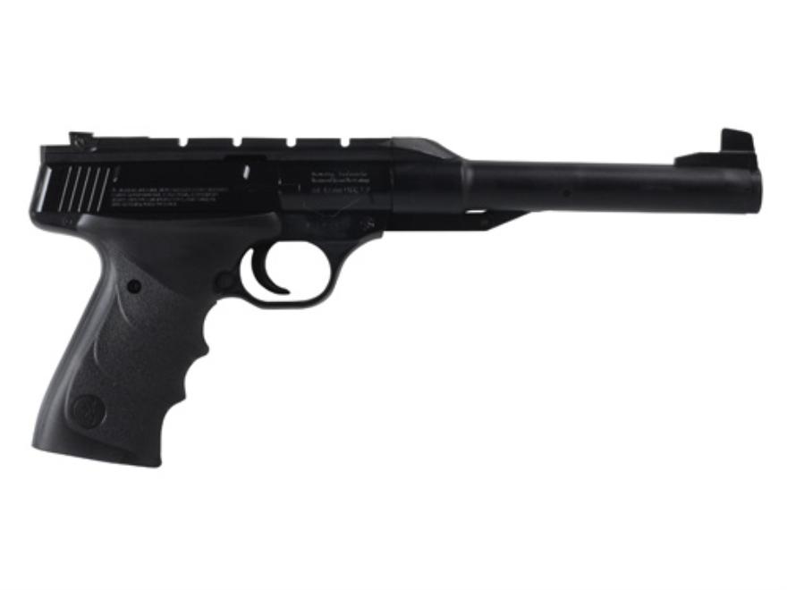 Browning Buck Mark URX Air Pistol 177 Caliber Pellet Black Polymer Grip Blue Barrel