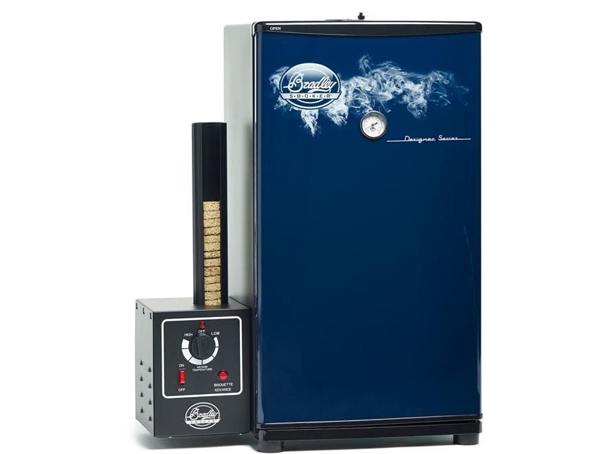 Bradley Designer Series Electric Smoker Blue