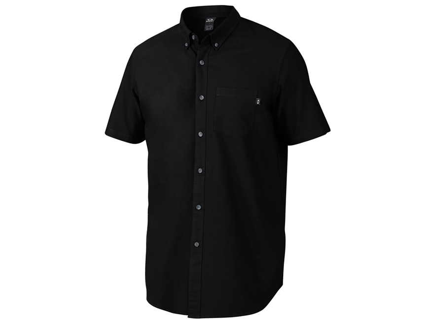 Oakley Men's Foundation Woven Button-Up Shirt - UPC: 888896561894