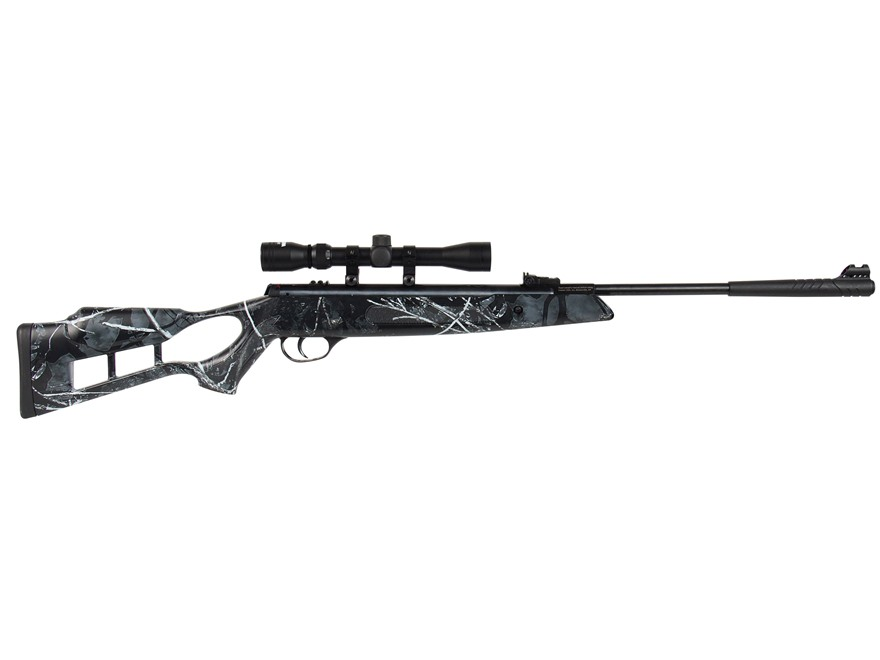 Hatsan Edge Combo Break Action Air Rifle Pellet Synthetic Stock Black Barrel with 3-9x3...