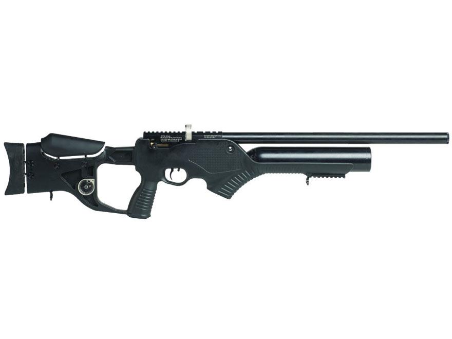 Hatsan Barrage Semi-Auto PCP Air Rifle Pellet Black Polymer Stock Black Barrel