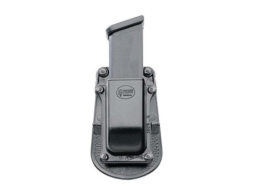 Fobus Paddle Single Magazine Pouch Double-Stack Ambidextrous Polymer Black