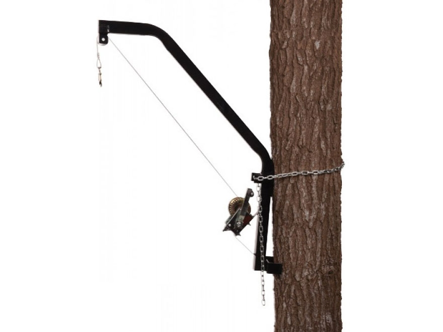 Moultrie Hanging Game Feeder Hoist Black