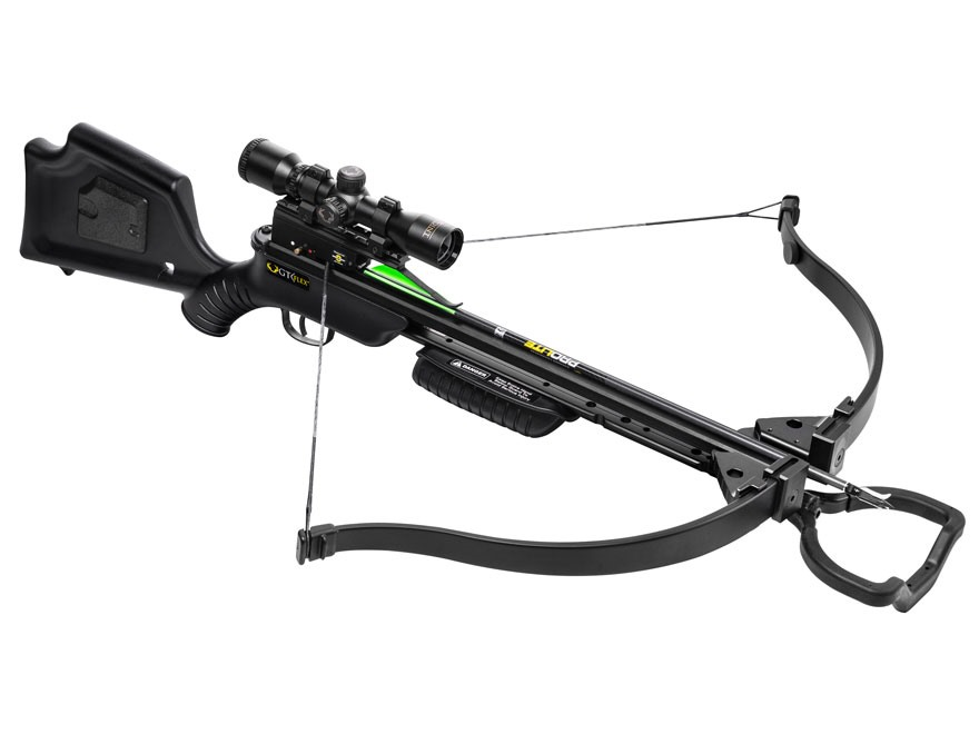 TenPoint GT Flex Recurve Crossbow Black