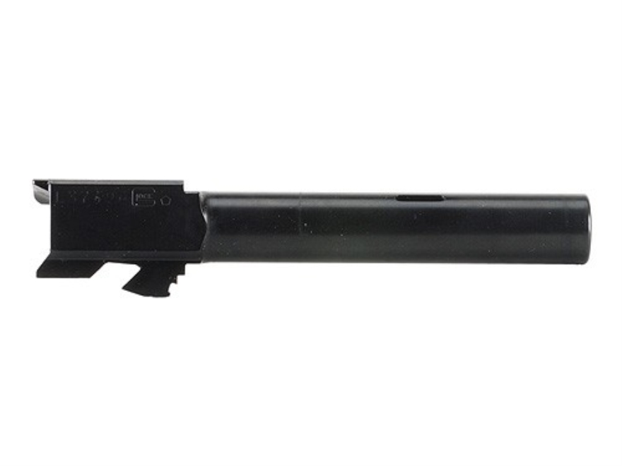 "Glock Barrel Glock 17C 9mm Luger 1 in 9.84"" Twist 4.49"" Carbon Steel Matte with Compens..."