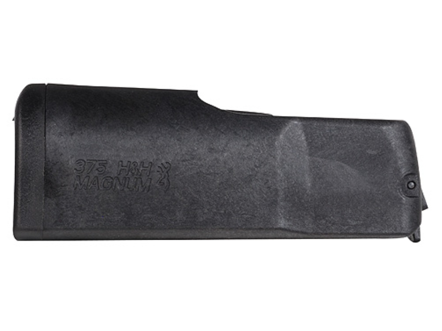 Browning Magazine Browning X-Bolt Large Magnum (375 H&H Magnum) 3-Round Polymer Black