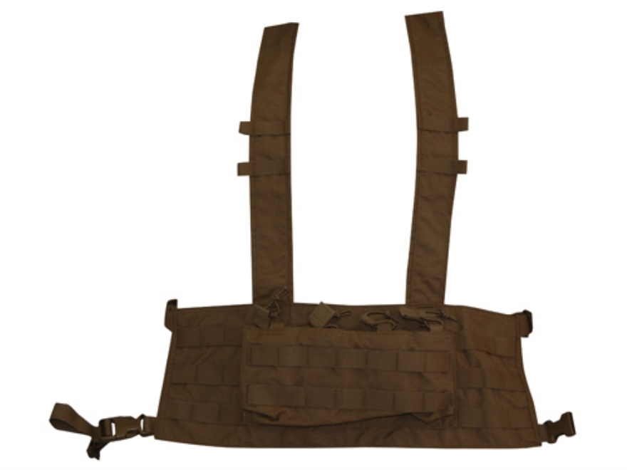 VTAC MOLLE Chest Rig Nylon Coyote