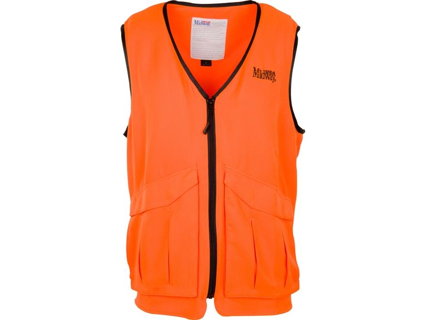 MidwayUSA Deluxe Blaze Orange Vest