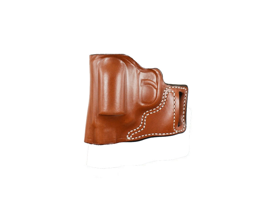 DeSantis L-Gat Slide Outside the Waistband Holster Kimber K6S Leather