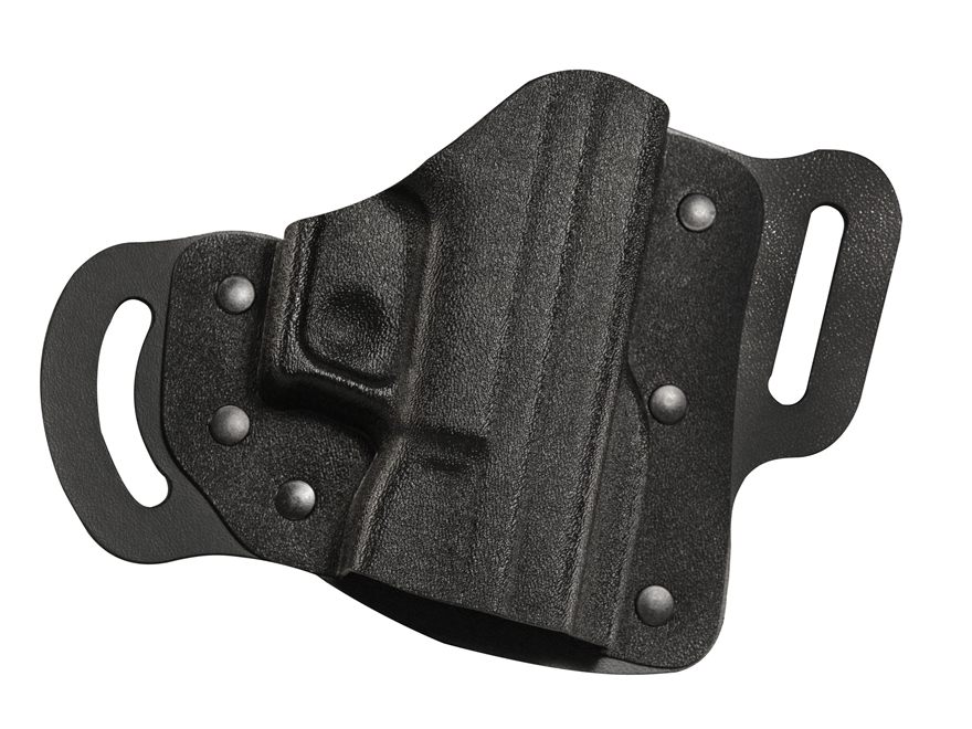 DeSantis Intimidator 2.0 Belt Holster S&W M&P Shield 45 ACP Kydex and Leather Black