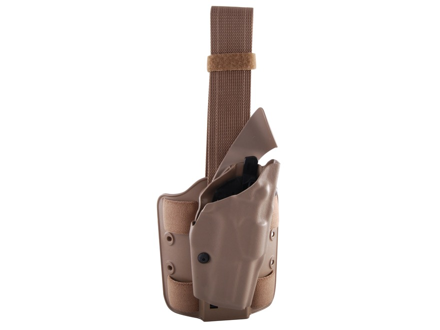 Safariland 6354 ALS Tactical Drop Leg Holster Right Hand S&W M&P 9mm, 40 S&W Polymer Fl...