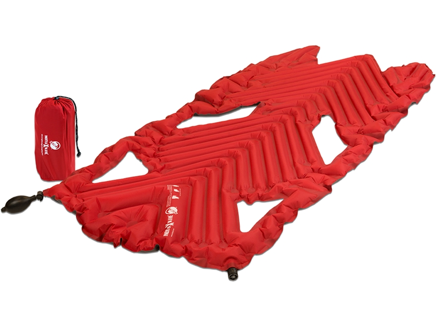 Klymit Inertia X Wave Sleeping Pad Polyester Red and Gray
