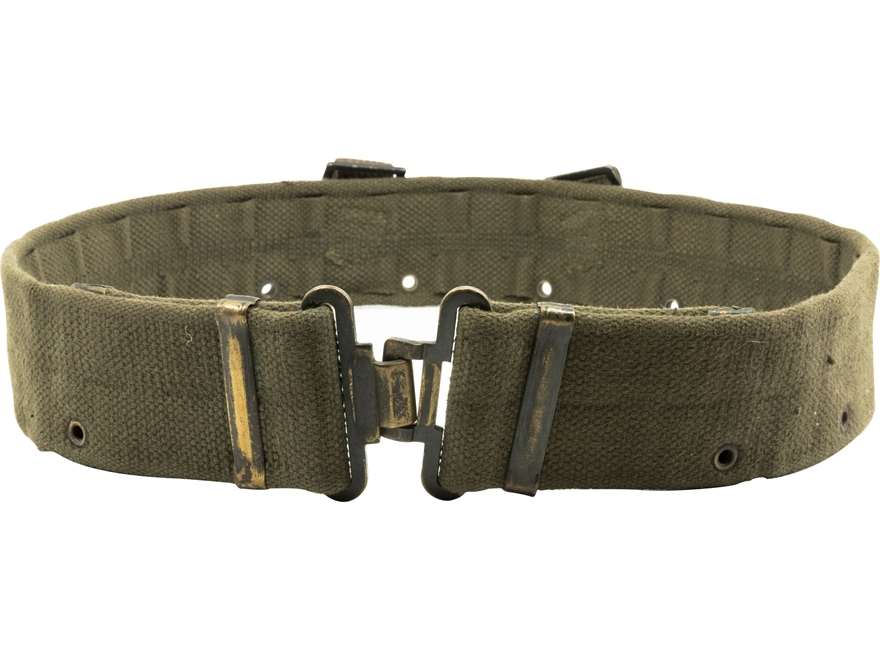 Military Surplus British M58 Combat Belt Grade 2 Olive Drab